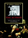 The Cambridge Companion to the Actress (eBook)